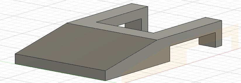 3D打印笔记本散热支架