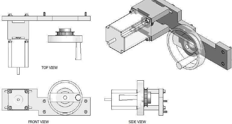 MINI CNC装配手册和CAD图纸